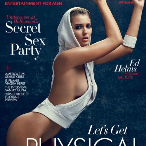 Heather Depriest Graces The Playboy September Cover Issue