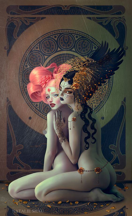 Rose and Gold by Natalie Shau