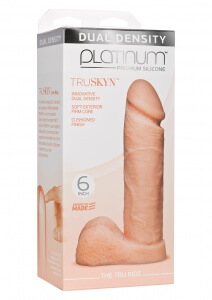 Doc Johnson Platinum the tru ride 6 inch flesh2