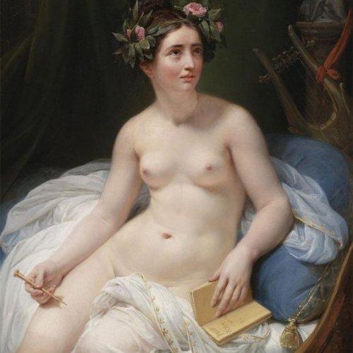 De koningin van Lesbos-poëet Sappho – Seks geschiedenis