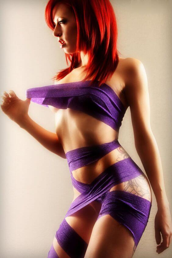 red-in-purple