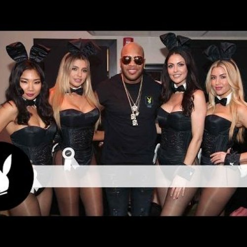 Rap Royalty and Bunnies Galore: Enjoy this Video of Playboy and Tao's Big Game Party