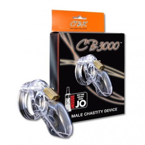 CB-X CB-3000 Chastity Package Clear