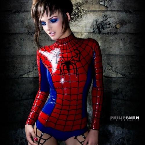 Spiderwoman Latex