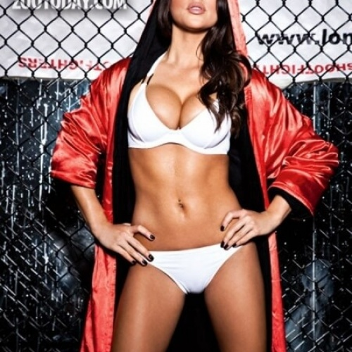 UFC Hottie Arianny Celeste Turns Playboy HQ into Sexy Central