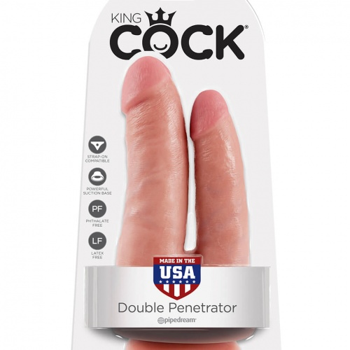 Pipedream Cock double penetrator