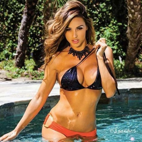 Behind The Scenes of Miss October 2015 Ana Cheri – Playboy