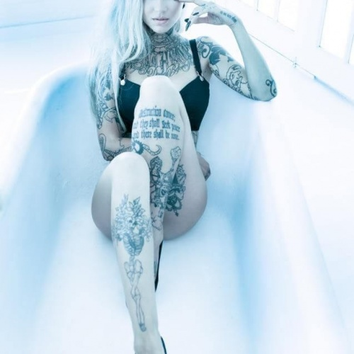 Tattoed Beauty Sara Fabel