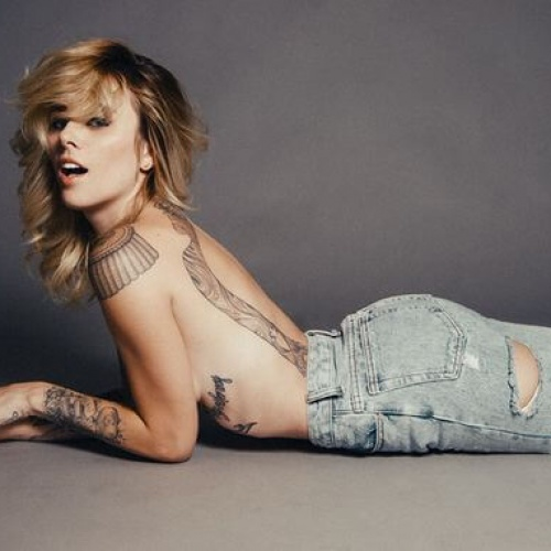Alysha Nett Riding a Motorcycle in Minimal Clothing is as Great as it Sounds