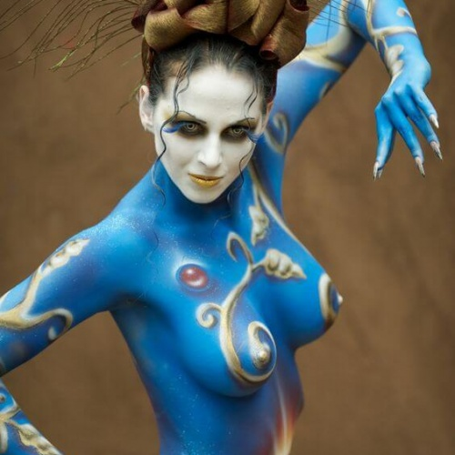 Bodyart by Geoff Pegler