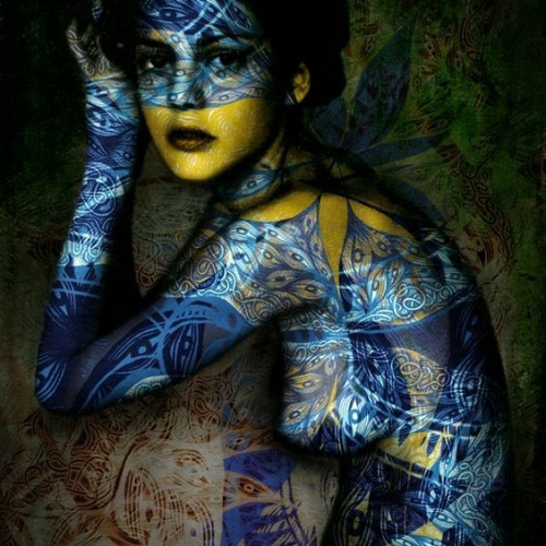 Body art by Yasmina Alaoui