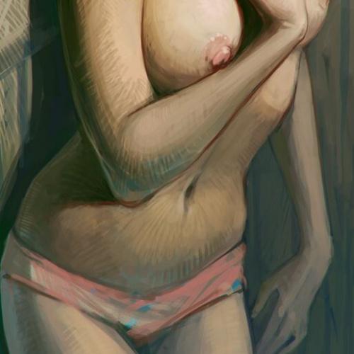 Kunstzinnig met een vleugje erotiek : Red by ~SkoLzki