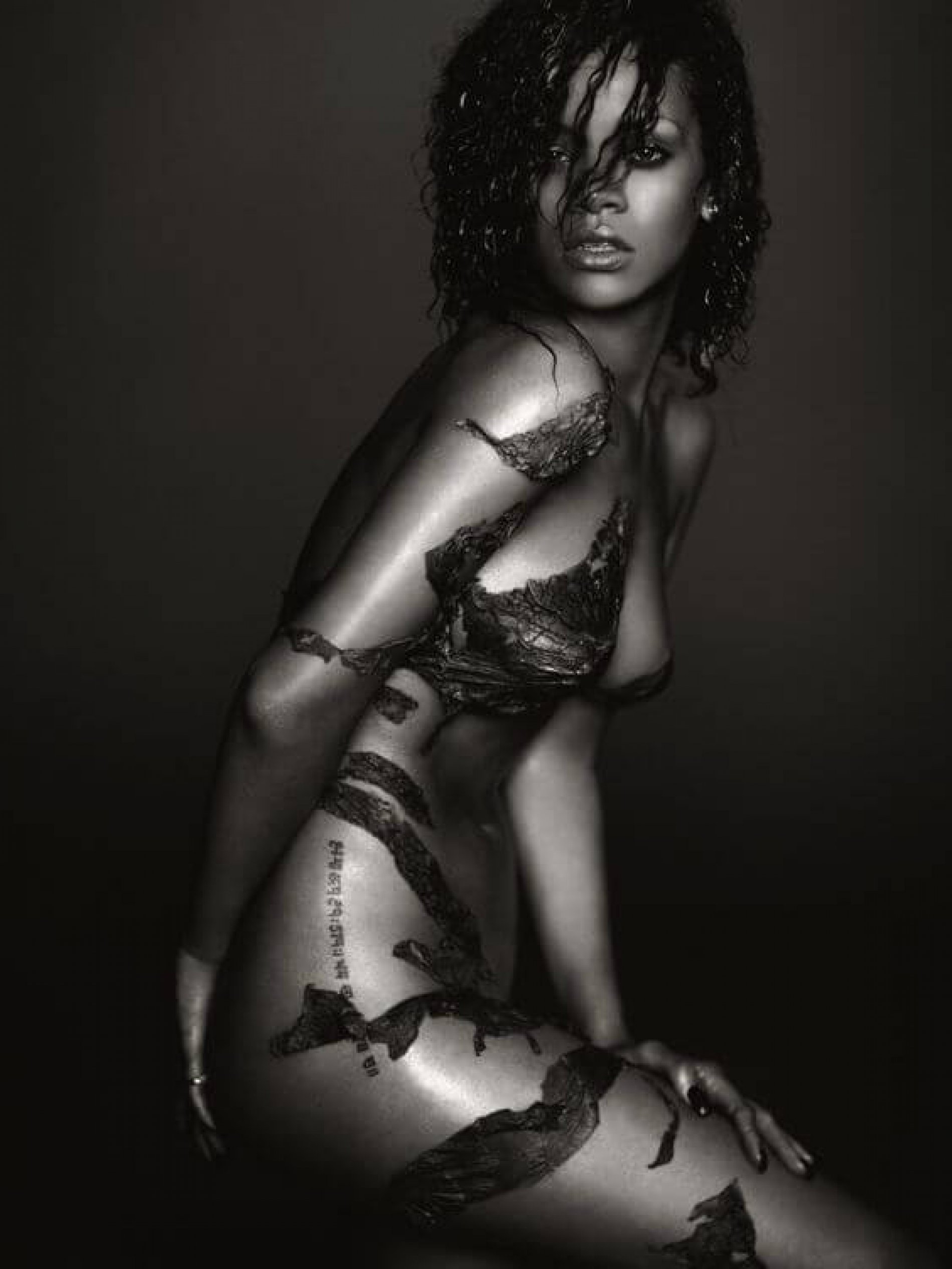 Rihanna, by Russel James