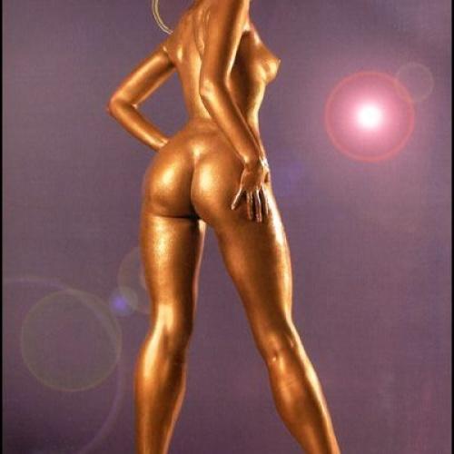 Golden Space girl