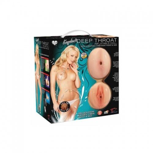 TLC® Inflatable lovedoll Kayden Kross deepthroat