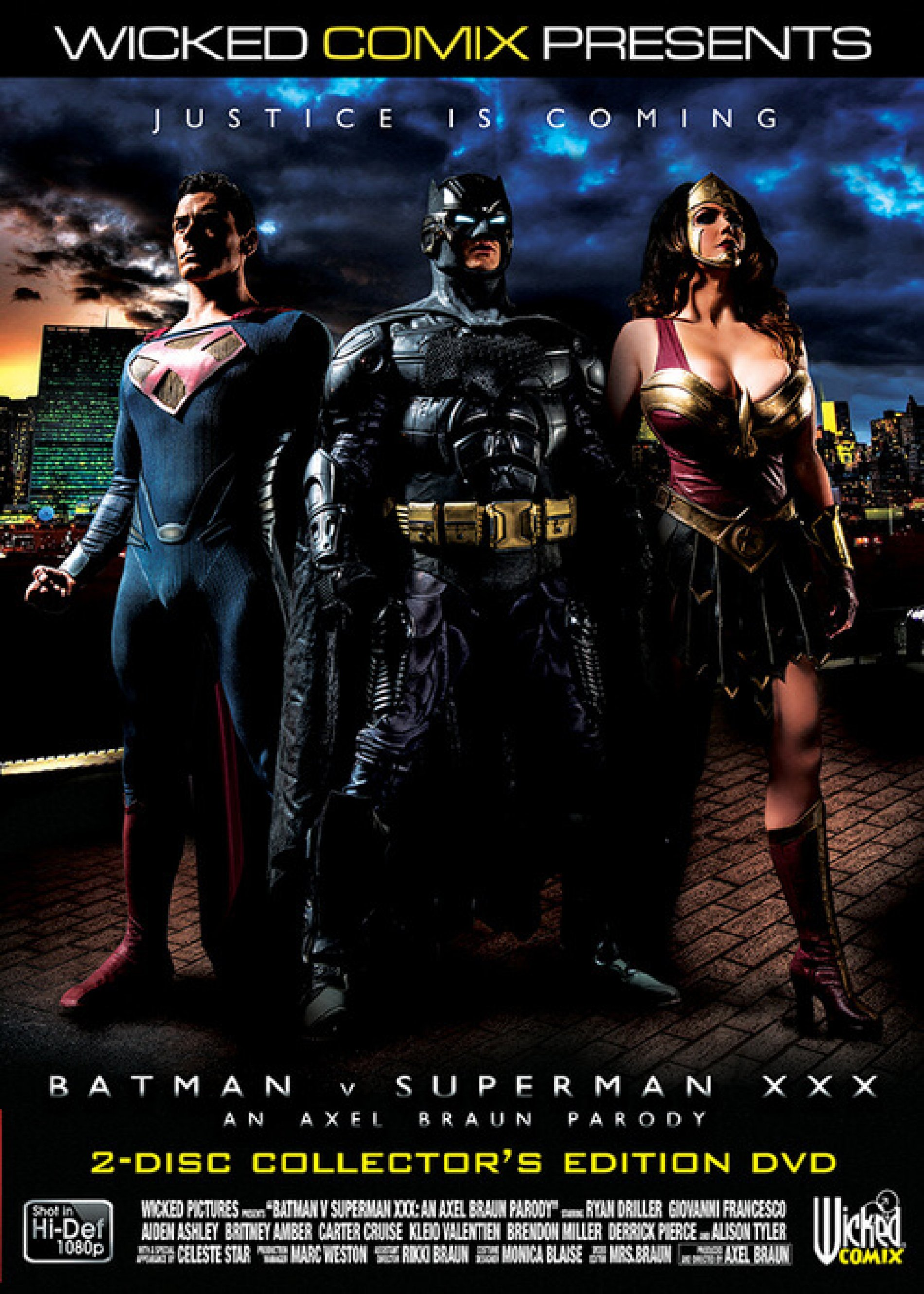 Batman Vs Superman XXX – an Axel Braun Parody