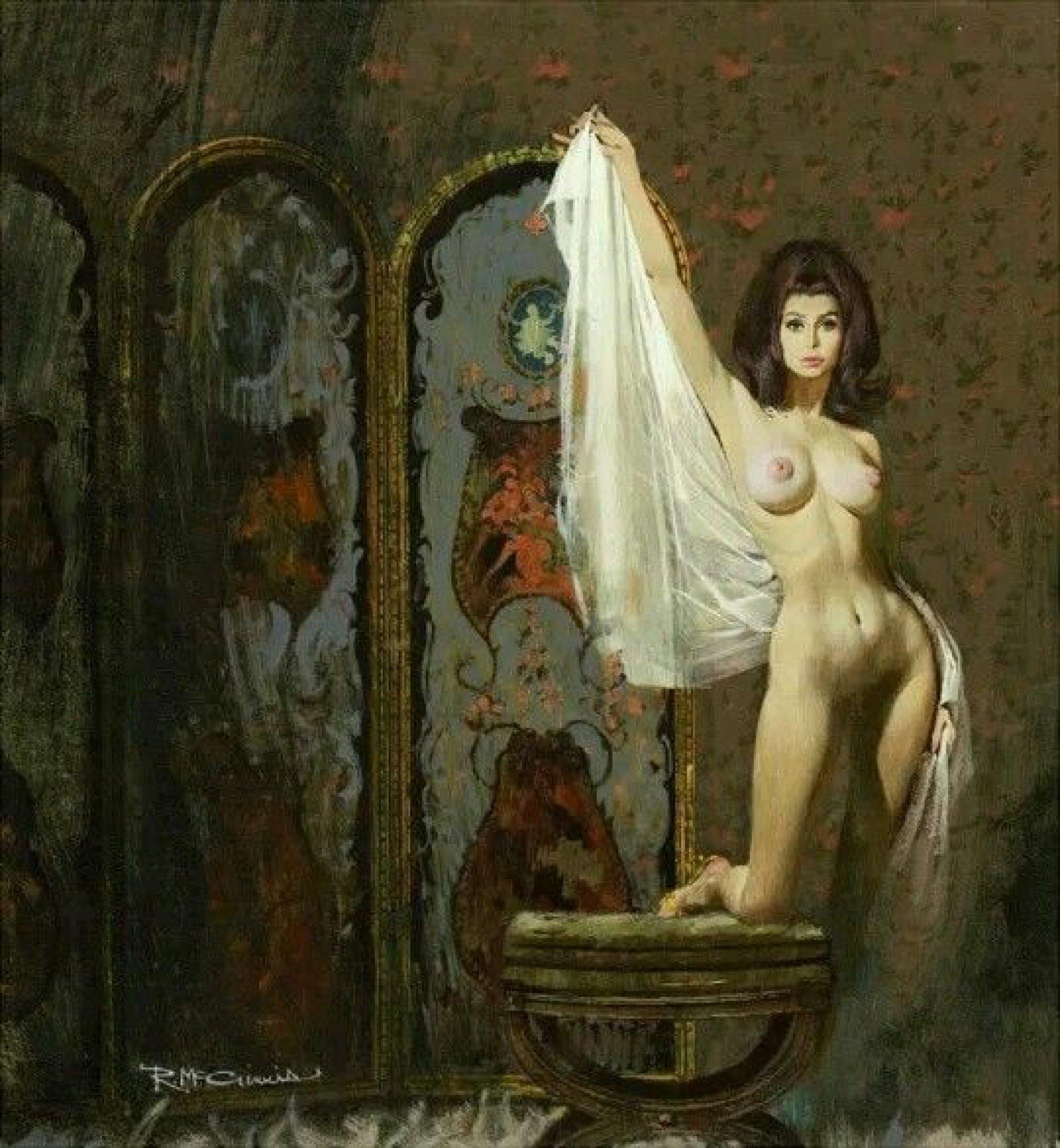 Kunstzinnig met een vleugje seks: Robert McGinnis