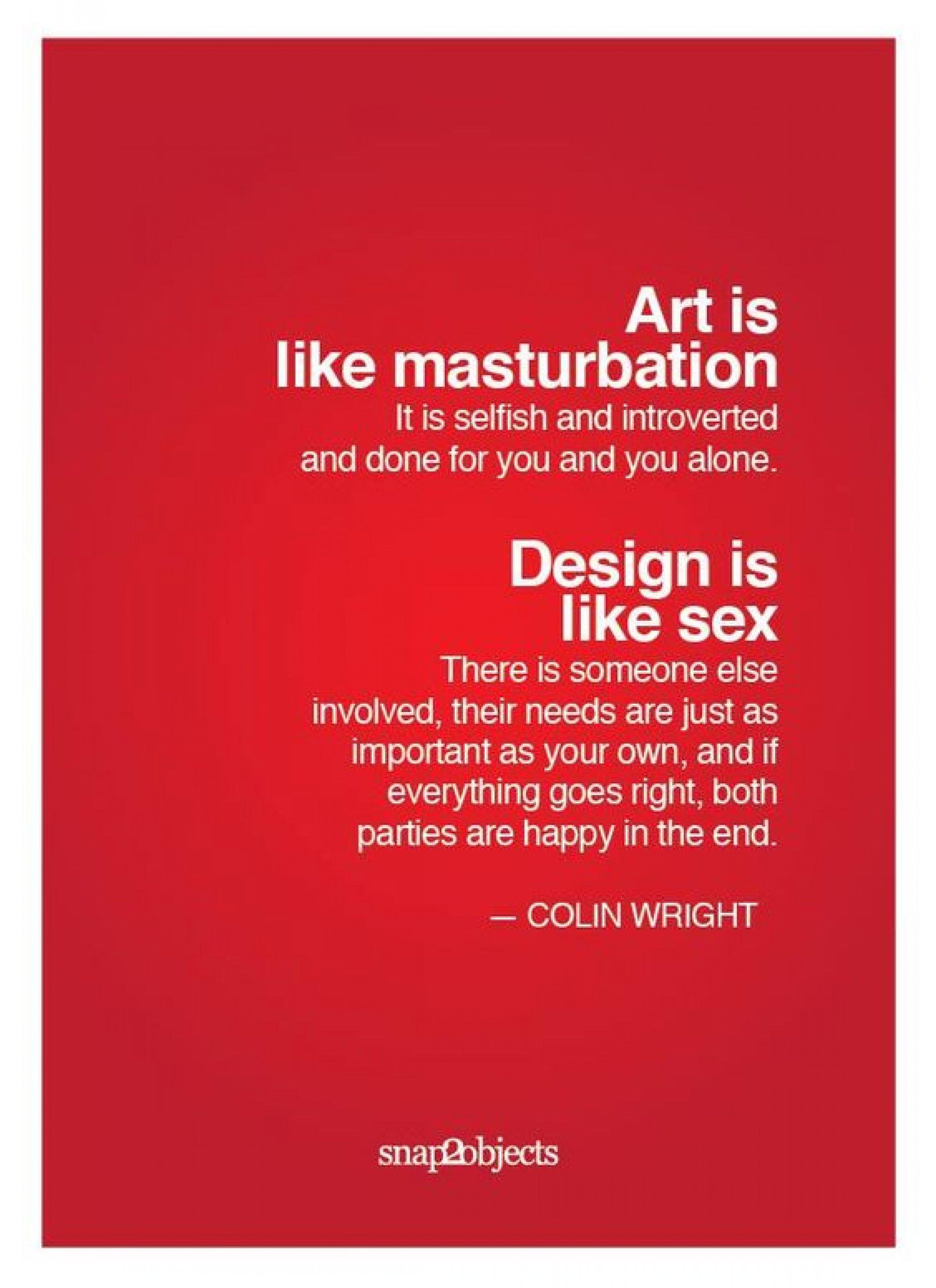 Kunst en masturbatie