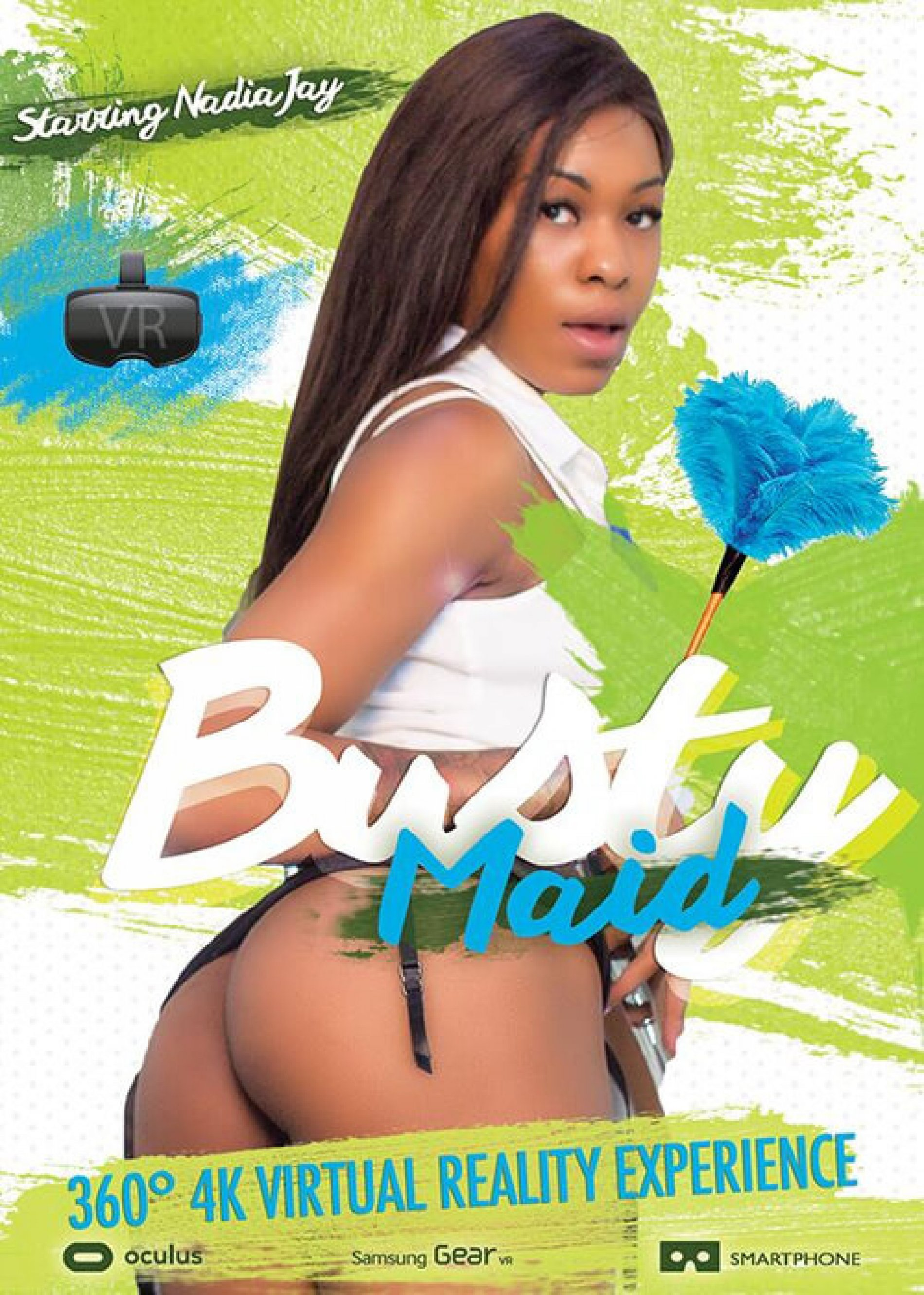 The Busty Black Maid – VR 360°
