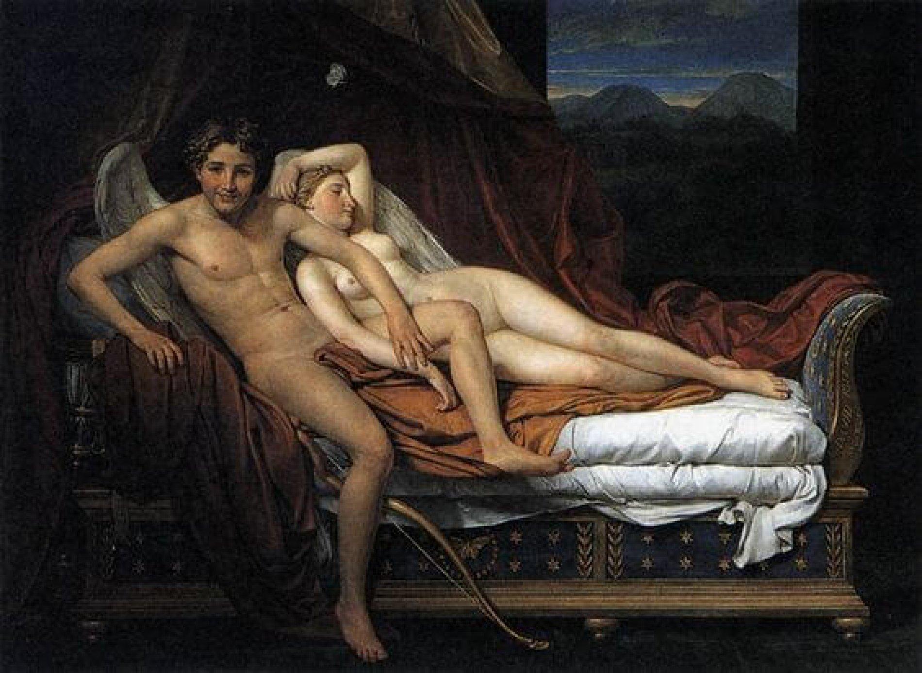 Het verhaal van Eros en Psyche