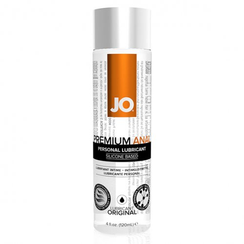 System JO Anaal siliconen glijmiddel 120 ml