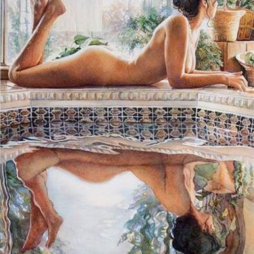 Steve Hanks – Reflecting
