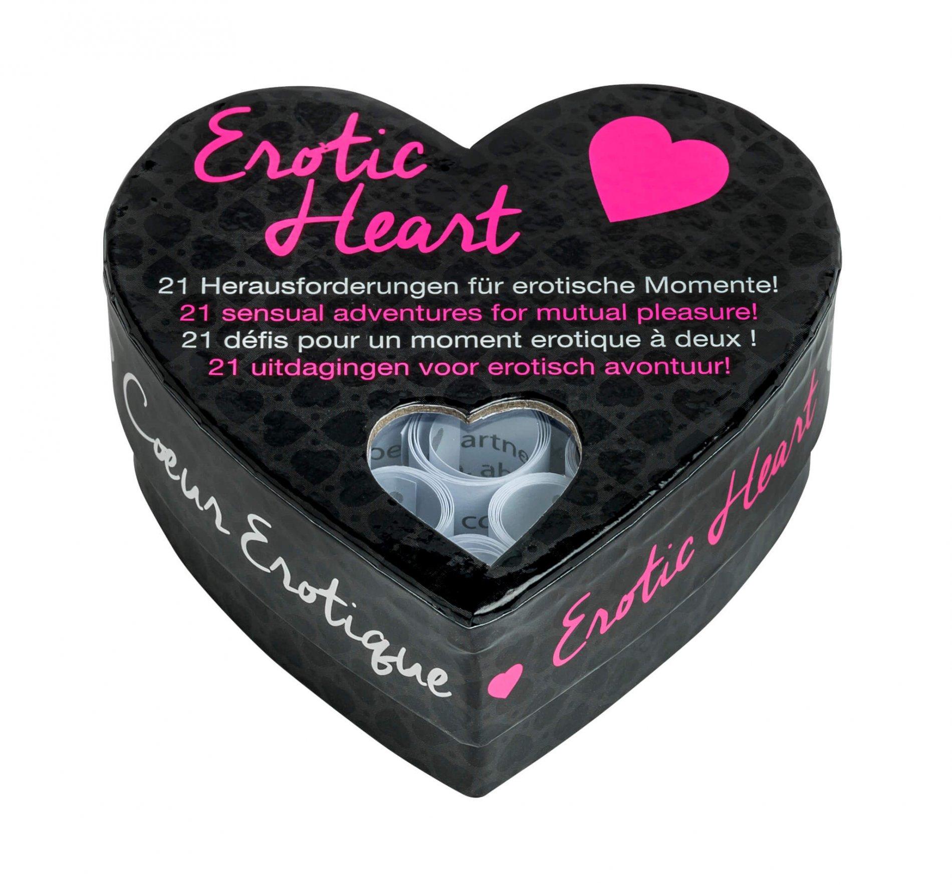 Tease & please Erotic heart