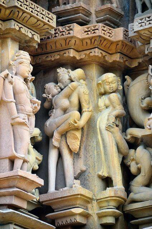 De geschiedenis van Seks tempels