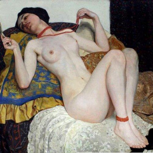 Kunstzinnig met een vleugje erotiek: The Coral Chain by Wilhelm Gallhof (1897)