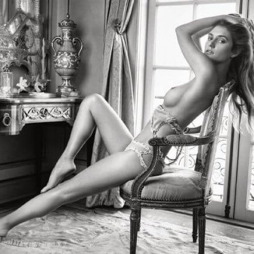 Go Behind the Scenes With March Playmate Elizabeth Elam