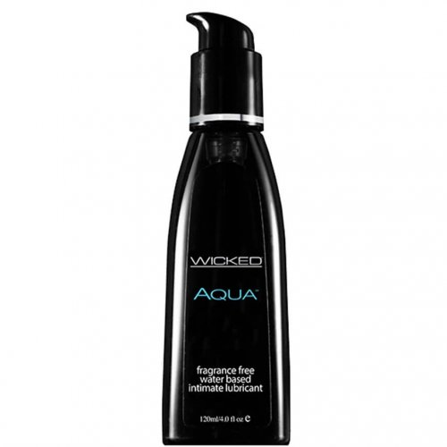 Wicked Aqua Geurvrij Waterbasis Glijmiddel 120 ml