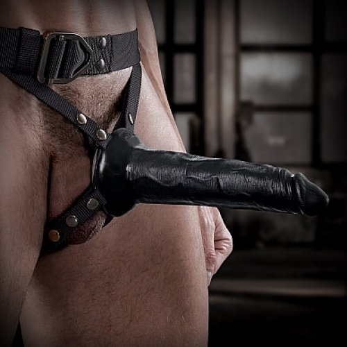 Pipedream Sir Richard's Command harness with hollow strap-on