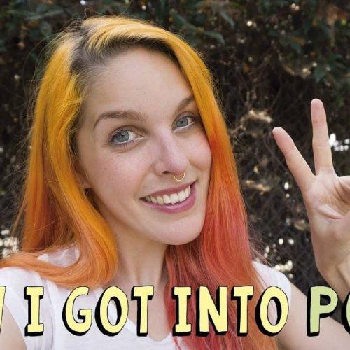 "How I Got Into Porn + Give Away ""La Gata Zurda"""