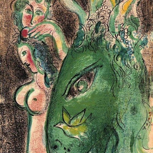 Kunstzinnig met een vleugje seks: Marc Chagall – Paradise