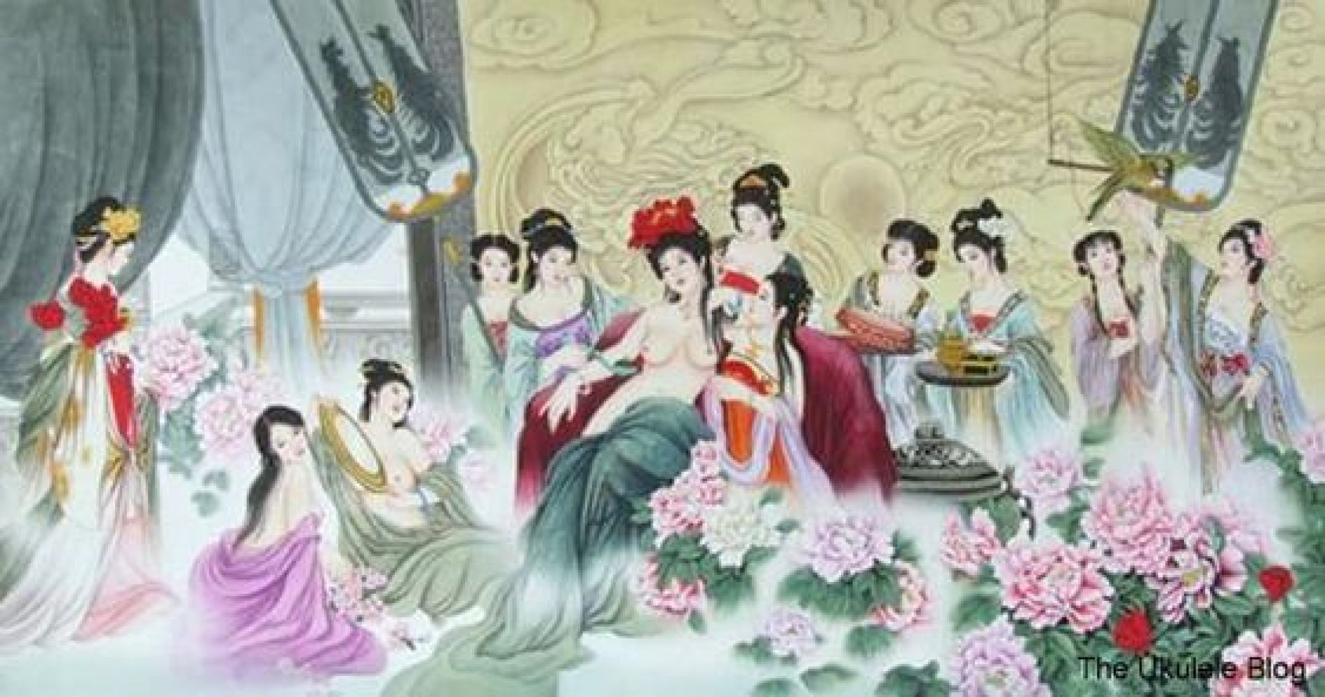 Het leven van een Concubine
