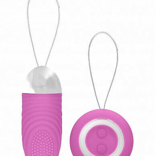 Shotstoys Slimpicity Ethan rechargeable remote control vibrating egg pink