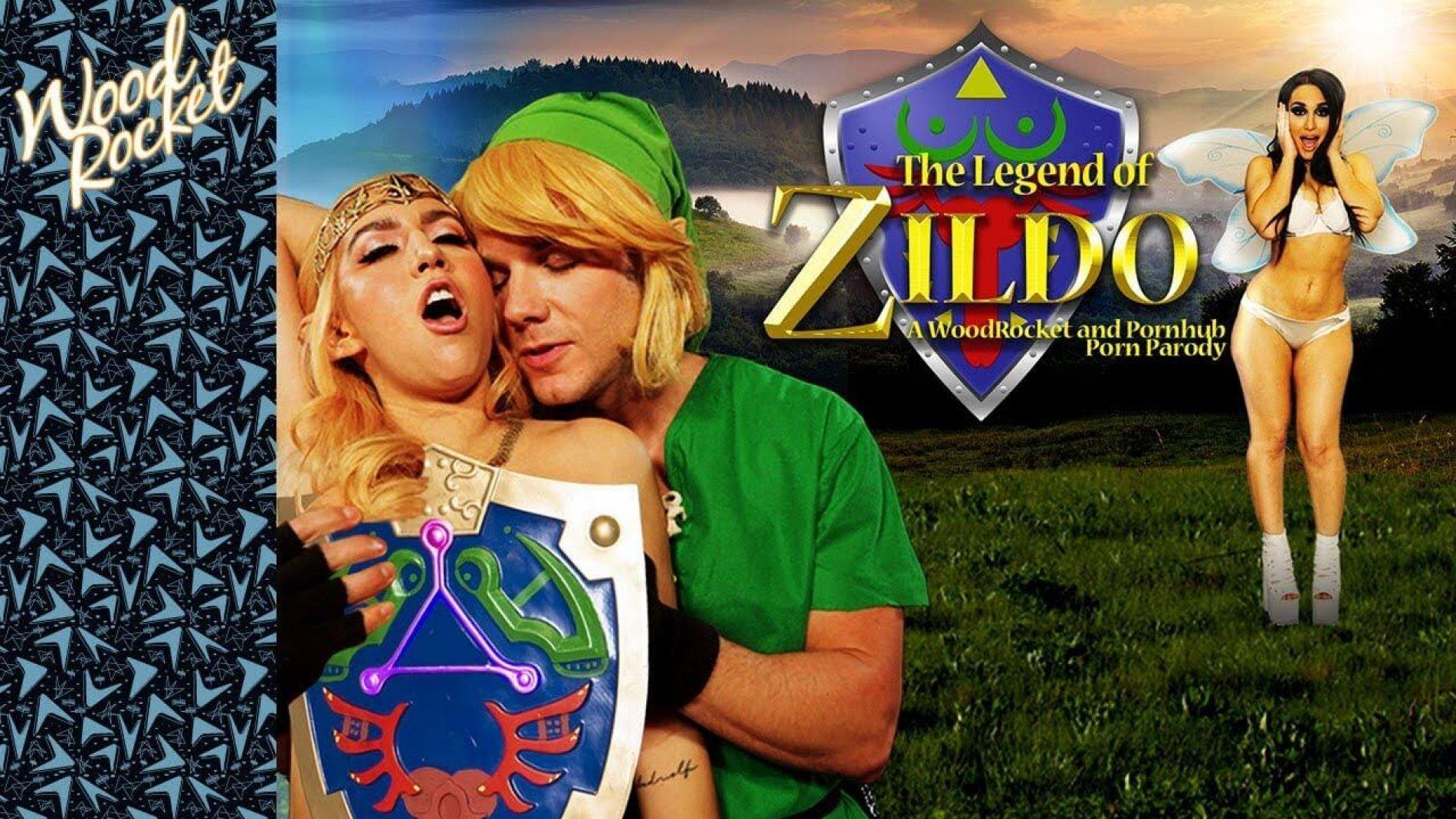 """Zelda Porn Parody: """"The Legend of Zildo"""""""