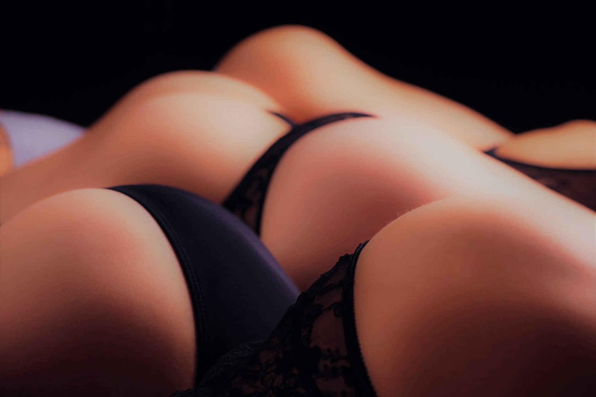 a wave of butts