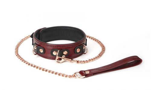 Unboxing Liebe Seela Wine Red Leather collr with leash
