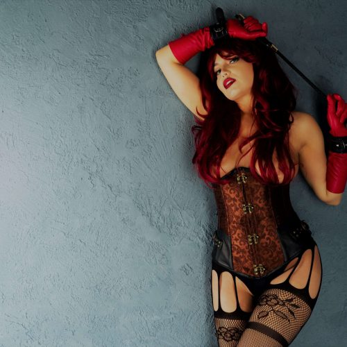 Sensual Red lady